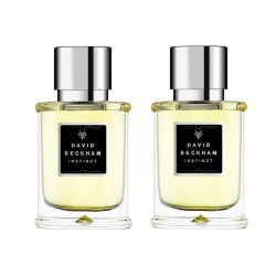2-pack David Beckham Instinct Edt 75ml Transparent