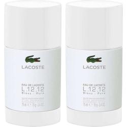 2-Pack Lacoste Eau De Lacoste Blanc Deo Stick 75ml Transparent