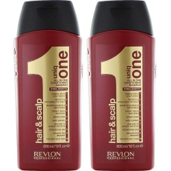 2-Pack Revlon Uniq One All In One Conditioning Shampoo 300ml Transparent