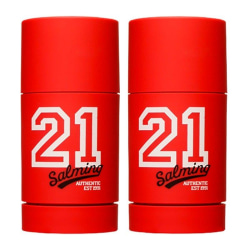 2-Pack Salming 21 Red Deo Stick 75ml Transparent