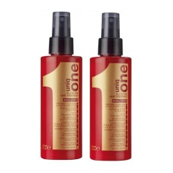 2-Pack UNBOXED Revlon Uniq One All In One Hair Treatment 150ml Transparent