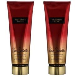 2-pack Victoria's Secret Pure Seduction Fragrance Lotion 236ml Transparent