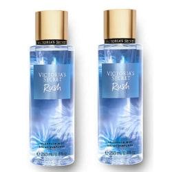 2-pack Victoria's Secret Rush Fragrance Mist 250ml Transparent