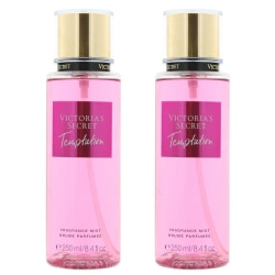 2-pack Victoria's Secret Temptation Fragrance Mist 250ml Transparent