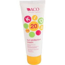 ACO Sol Kids Spf 20 125ml Transparent