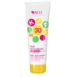 ACO Sol Kids Spf 30 125ml Transparent