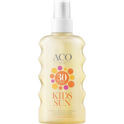 ACO Sol Kids Spray Spf 30 175ml Transparent