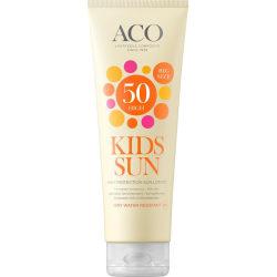 ACO Sol Lotion Kids Spf 50 250ml Transparent