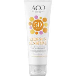 ACO Sol Sun Kids Cream Spf 50 125ml Transparent