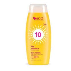 ACO Sun Moisturising Lotion Spf 10 200ml Transparent