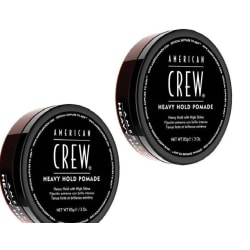 American Crew Heavy Hold Pomade 85g 2-pack Transparent