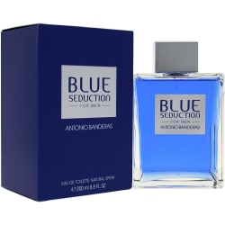 Antonio Banderas Blue Seduction For Men Edt 200ml Transparent