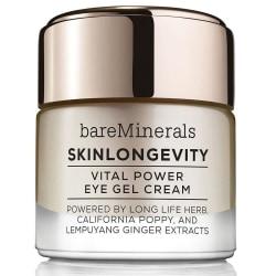 bareMinerals Skinlongevity Vital Power Eye Cream Gel Transparent