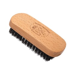 Beard Brother Beard Brush Nylon Bristle Transparent