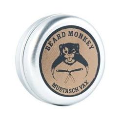 Beard Monkey Mustache Wax 20g Transparent