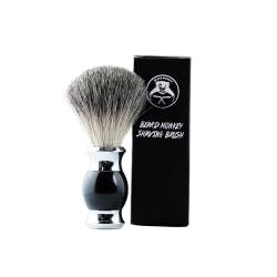 Beard Monkey Shaving Brush Transparent