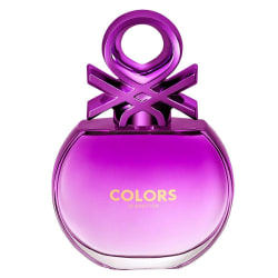 Benetton Colors For Her Purple Edt 80ml  Transparent