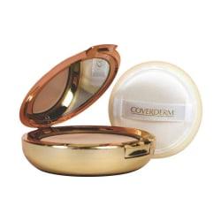Coverderm Compact Powder Oily Skin 10g # 4A Transparent