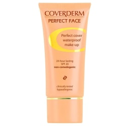 Coverderm Perfect Face Cover 24-Hour Lasting 30ml # 8 Transparent