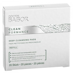 Doctor Babor Cleanformance Deep Cleansing Pads Refill 20st Transparent