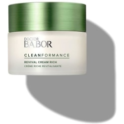 Doctor Babor Cleanformance Revival Cream Rich 50ml Transparent