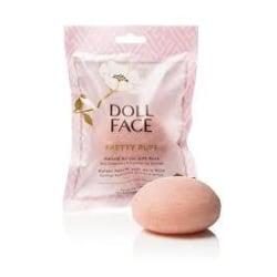 Doll Face Pretty Puff Rose Konjac Cleansing Sponge Transparent