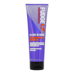Fudge Violet Clean Blonde Shampoo 250ml Transparent