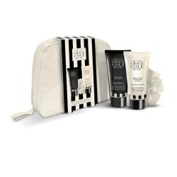 Grace Cole Fresh Linen Bathing 4 pcs Cosmeticbag Set Transparent