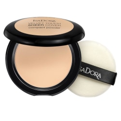 Isadora Velvet Touch Sheer Cover Compact Powder Warm Vanilla Transparent