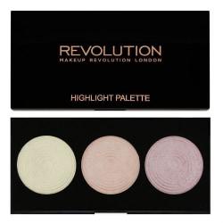 Makeup Revolution Highlighter Palette Highlights Transparent