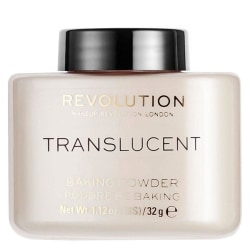 Makeup Revolution Loose Baking Powder Translucent Transparent