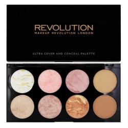 Makeup Revolution Ultra Blush Palette Golden Sugar Transparent