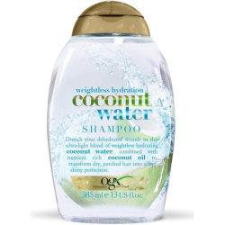 OGX Weightless Coconut Water Shampoo 385ml Transparent