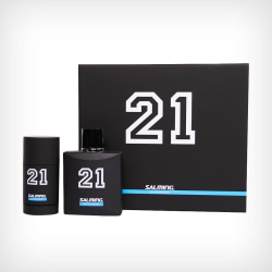 Salming 21 Authentic Est 1991 Giftset 100ml EdT+Deo stick 75ml Transparent