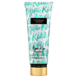 Victoria's Secret Aqua Kiss Shimmer Fragrance Lotion 236ml Transparent