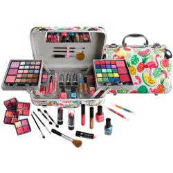 Zmile Cosmetics Makeup Box Traveller Blue Transparent