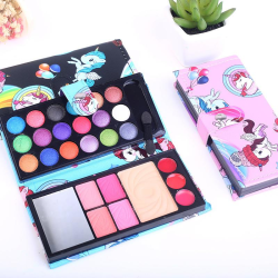 26 färger sminkset med sött unicorn motiv