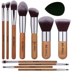 BS09 - BS-MALL 11 st. exklusiva Make-up / sminkborstar av Bästa