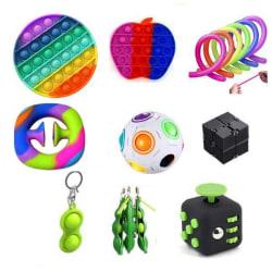PRO set - 15 st. Fidget Toys Set för barn och vuxna multifärg one size