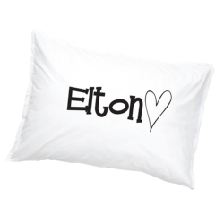 Elton Örngott Hjärta