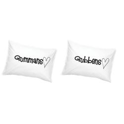 Gubbens & Gummans Örngott Hjärta
