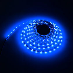 Ledslinga för USB Blå LED 1 meter TV