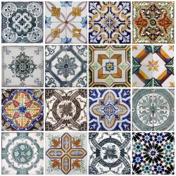 Marrakech Vintage 16-pack färgad matt