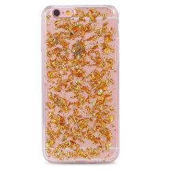 Mjukt skal Iphone 6 Koppar glitter
