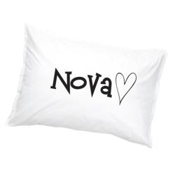 Nova Örngott Hjärta