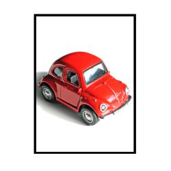 Poster Barn Bil A4