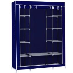 Herzberg HG-8009: Förvaringsgarderob - Stor blå