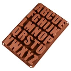 Chokladform Alfabet