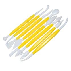 Modelleringsverktyg 16 spetsar gul