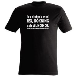 T-shirt Jag slutade med sex..nr23 xxl